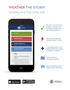 Weather the STorm FeMA App