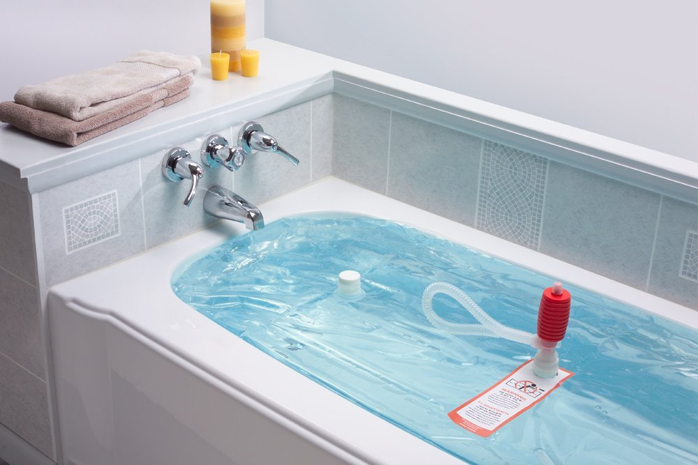 WaterBOB & Check out this hygienic emergency water storage idea! - Self ...