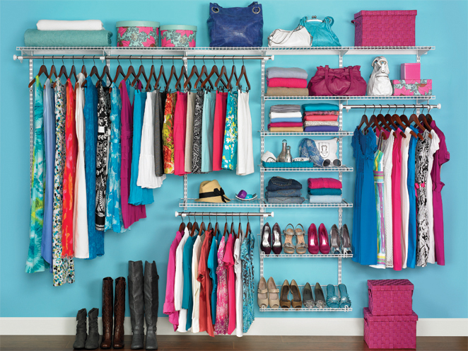 How To Organize Closet your home: how to organize your closet - self-reliance central
