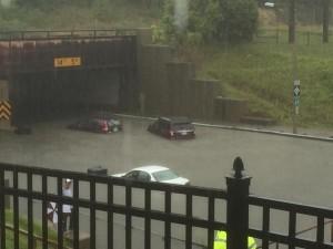 Flood in Lansing