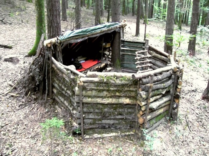 Bug Out Bunker : Lily s awesome bug out camp self reliance central