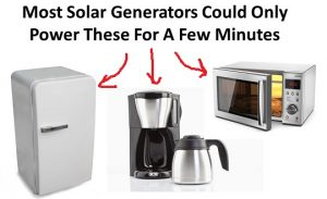 what-portable-solar-generators-cant-power-with-arrows