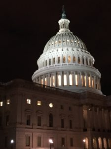 Capitol Hill at Night. Photo: Kelly McCarthy