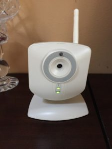 Photo: Home security camera. Kelly McCarthy with permission
