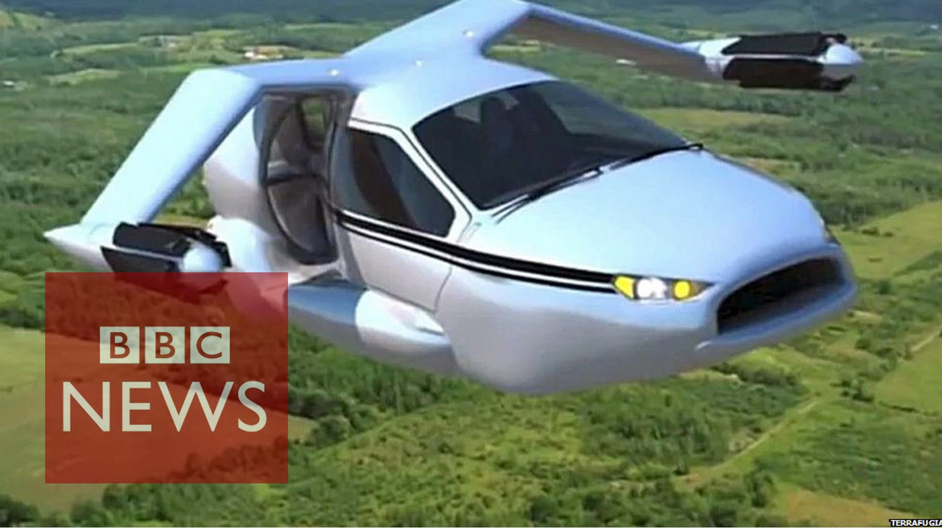 Car Flying News