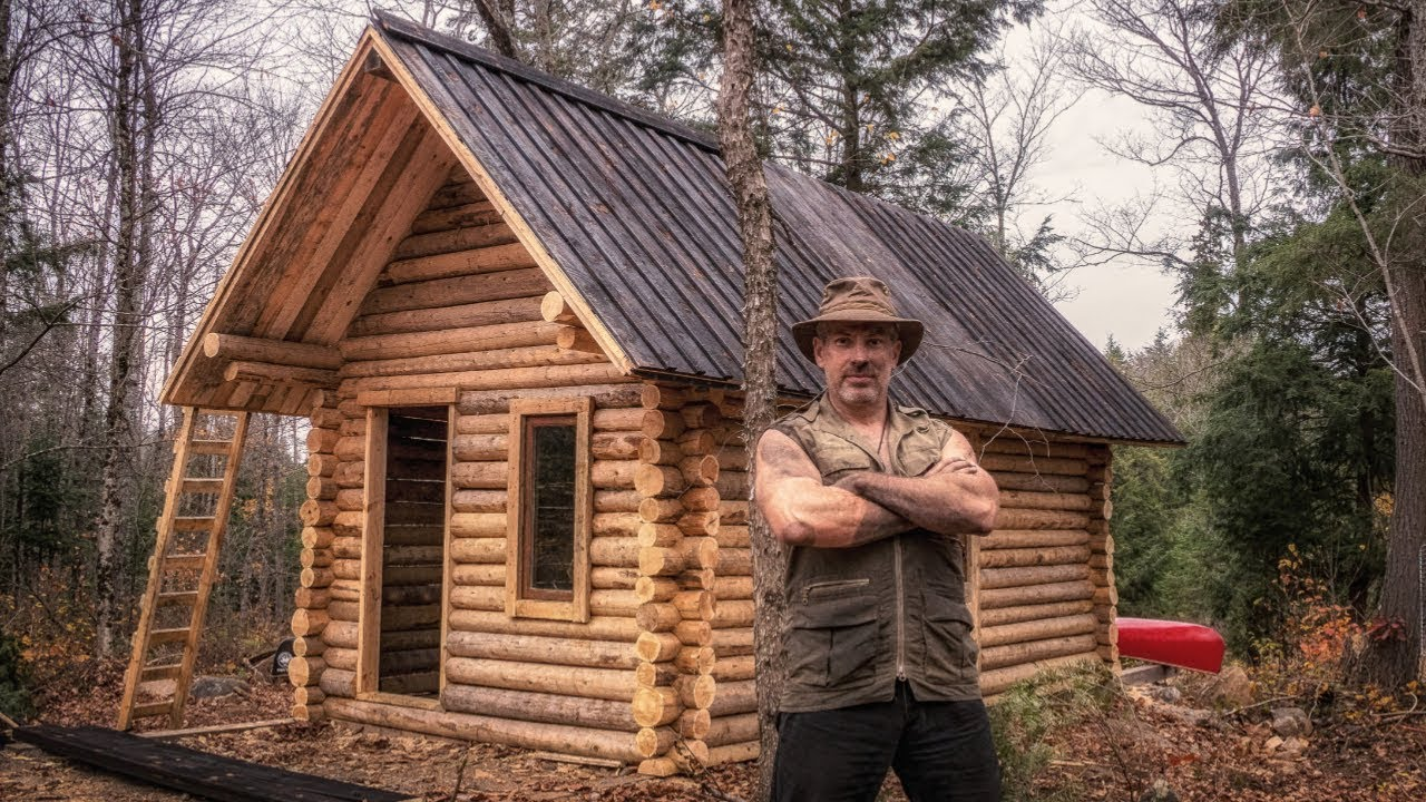 Log Cabin Property For Sale Central Alberta